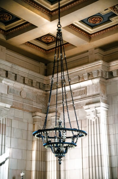 Union Station Hanging Chandelier 2
