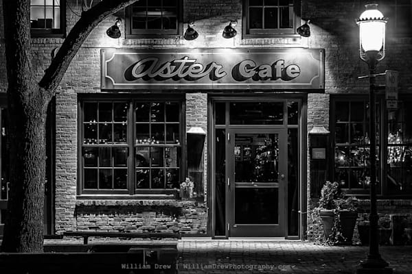 Aster Cafe - Minneapolis Wall Murals | William Drew Photography