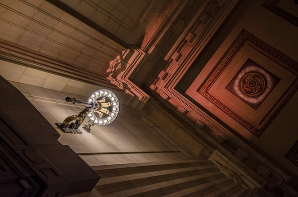 Union Station Hanging Chandelier 3