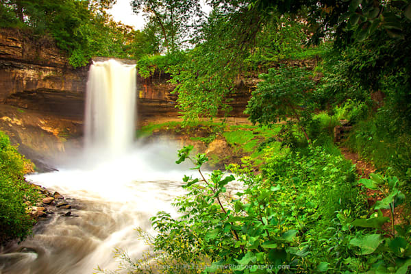 Minnehaha Falls Wall Murals | William Drew Photography