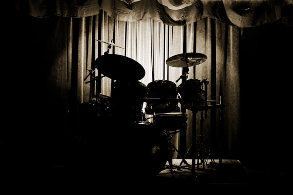 Jazz Drum Set On Stage Wall Art 3234.01