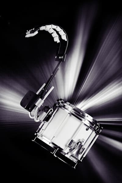 Metal Wall Art Marching Snare Drum 3327.01