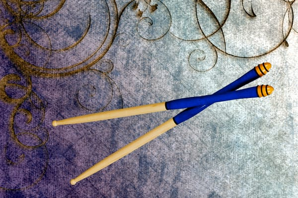 Jazz Drum Sticks Music Art 3244.02