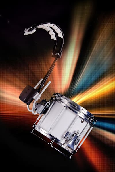 Space Marching Snare Drum Music Art 3327.02