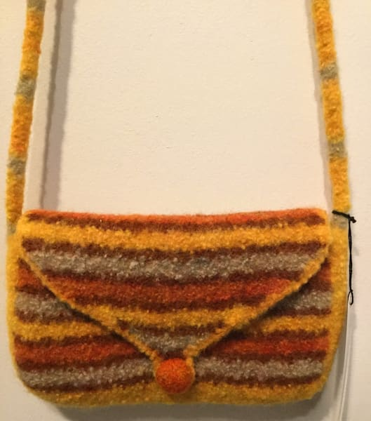 Felt Shoulder Clutch