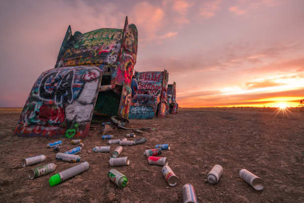 'Art & Cans' Photograph by Jess Santos for sale as Fine Art