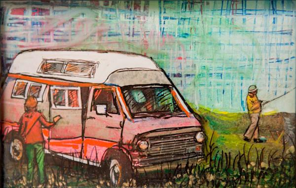 Salmon Van