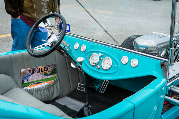 1923 Ford T Bucket Dashboard 3087.02