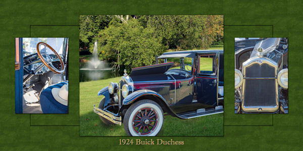 1924 Buick Duchess Classic Car Collage 119