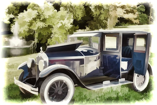 Canvas Print 1924 Buick Duchess Old Car 106