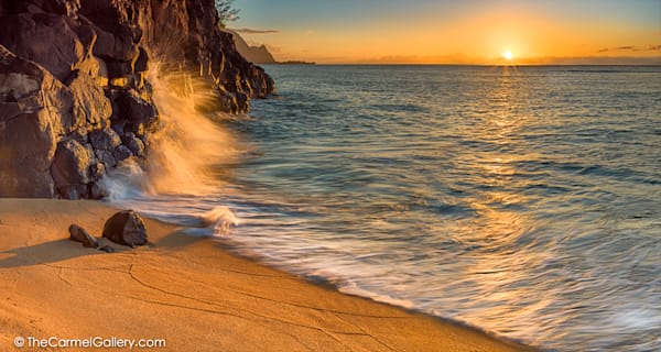 Photo of sunset at Hideaways Beach