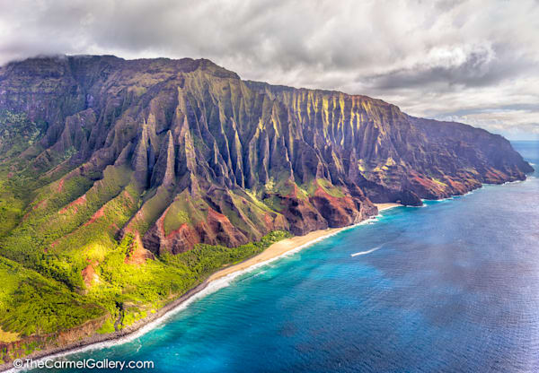 Aerial Photo of Kauai's North Shore