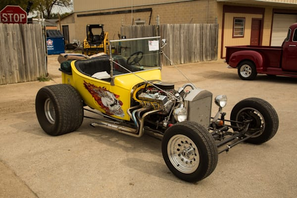1923 Ford T-Bucket Yellow Classic Car 5700.02