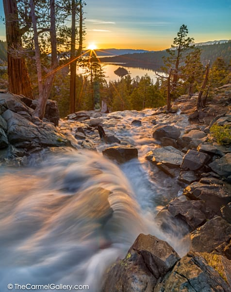 Sunrise on Eagle Falls Lake Tahoe