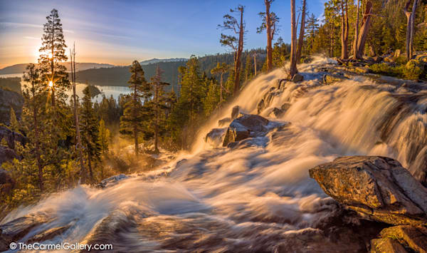 Sunrise Panorama, Eagle Falls