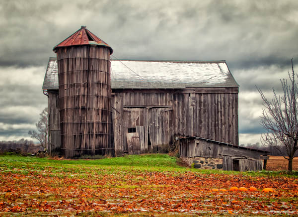 Autumn Barn Photography Art | Lance Rosol Fine Art Photography