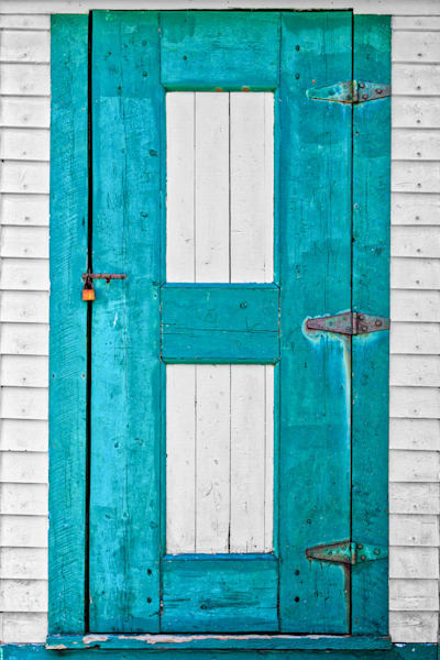School House Door - Fogo