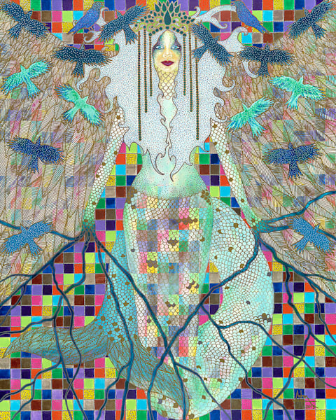 limited-edition-print, wings, goddess, fantasy