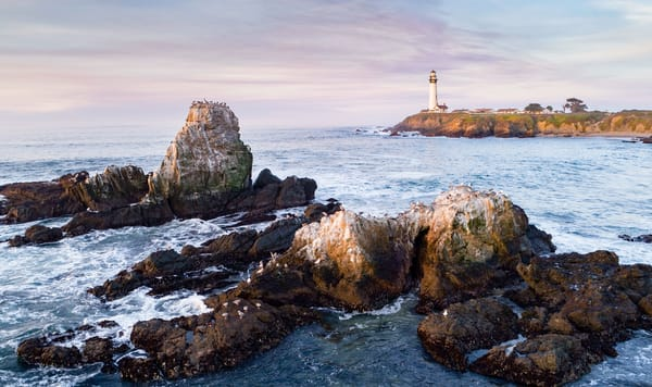 Reef Lighthouse At Pigeon Point Art | Tony Pagliaro Gallery