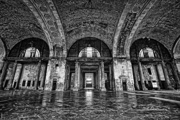 Michigan Central Station Grandeur Photography Art | Lance Rosol Fine Art Photography