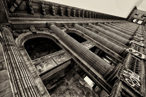 Michigan Central Station Top Floor Photography Art | Lance Rosol Fine Art Photography