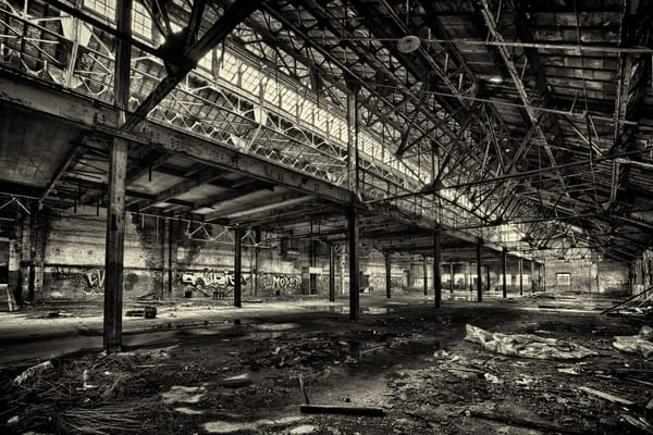 Just Another Abandoned Factory Photography Art | Lance Rosol Fine Art Photography