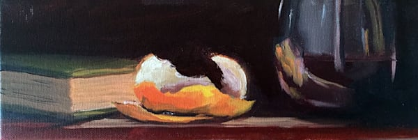Orange Peel Still Life painting by Paul William | Fine Art for Sale