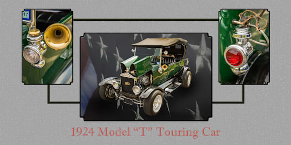 1924 Ford Model T Touring Collage 5509.006