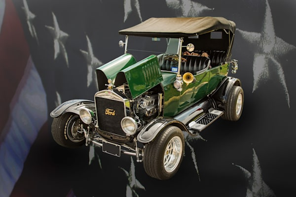 1924 Ford Model T Touring Wall Art 5509.001
