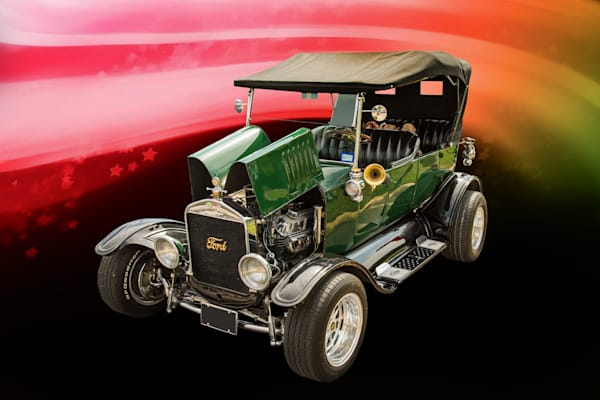 1924 Ford Model T Touring Classic Car Pictures