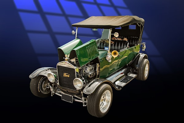 1924 Ford Model T Touring Classic Car Art Photographs