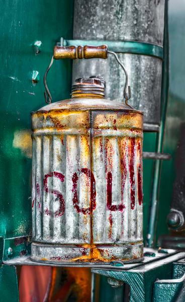 Art Photograph Antique Vintage Farm Ranch Gasoline Gas Can fleblanc