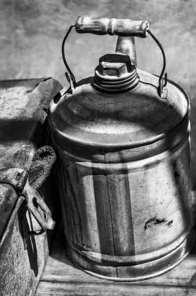 Antique Farm Tractor Oil Pull Gasoline Can Toolbox  fleblanc