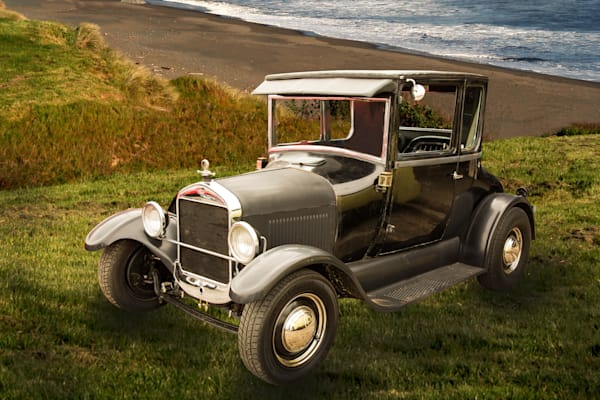 1927 Ford Coupe Art Photographs for Canvas Prints and Metal