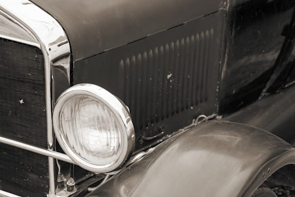 1927 Ford Coupe Headlight Classic Car 4037.02
