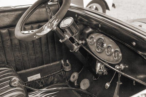 1927 Ford Coupe Vintage Car Inside 4049.02