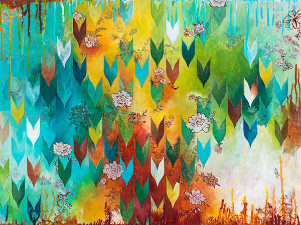 The Key to Happiness, an original art painting by Heather Robinson