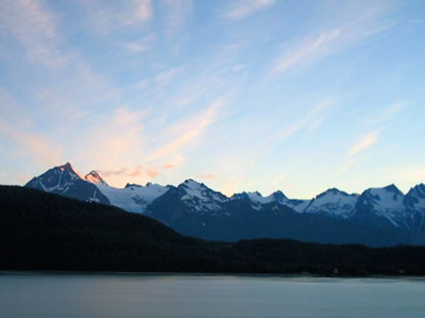Alaska Mountain Landscape Photograph Art For Sale