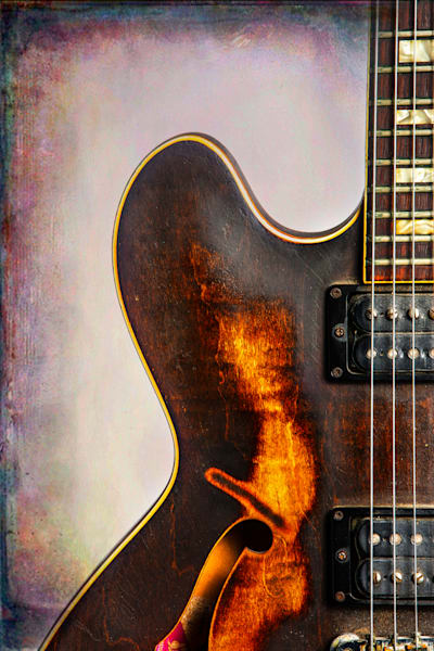Wall Art Gibson Guitar Art 1744.31