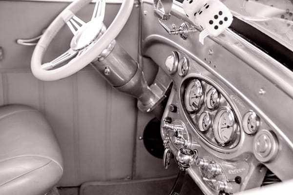 1929 Chevrolet Classic Car Dashboard 3130.01