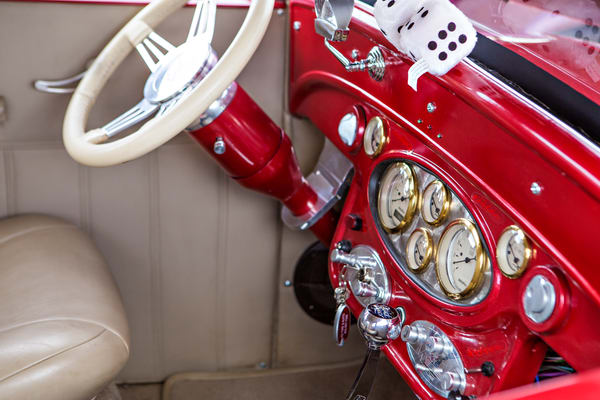 Inside 1929 Chevrolet Classic Car 3130.02