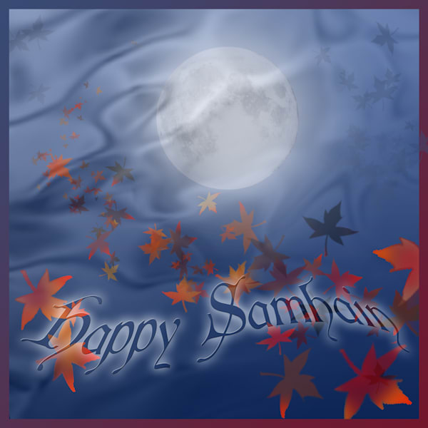 Happy Samhain! Art | Melissa A Benson Illustration