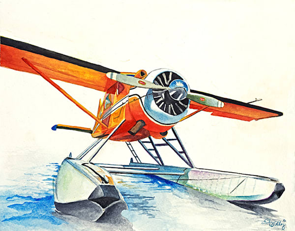 Fine art prints of art with airplanes.