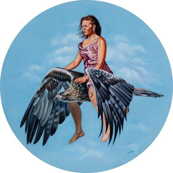 """""""On Eagles Wings"""" by Ilse Kleyn   Prophetics Gallery"""