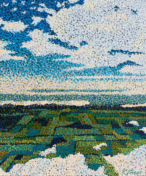 Pointillism Landscape Art and Paintings for Sale