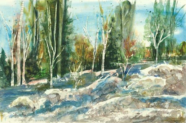 Fall Scene fine art print by Gayle Brunner.