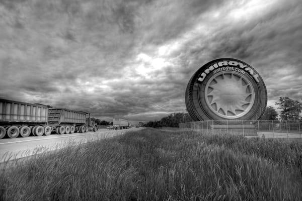 The Road To Detroit (Monochrome) Photography Art | Lance Rosol Fine Art Photography