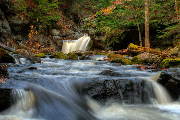 Serenity Falls Photography Art | Lance Rosol Fine Art Photography