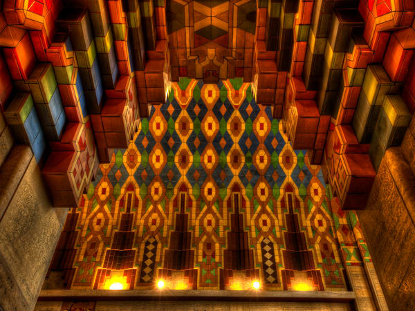 Guardian Building Ceiling Photography Art | Lance Rosol Fine Art Photography