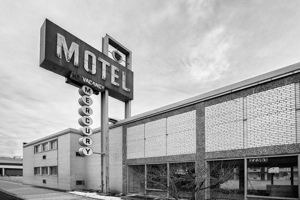 Mercury Motel Full (Monochrome Ver 2)